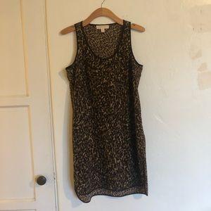 MICHAEL Michael Kors Camouflage Tank Dress